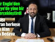 Üzeyir Engin'den Türkiye'de yine bir ilki gerçekleştirdi